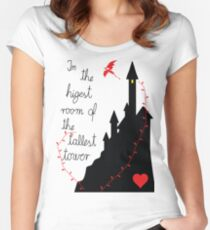 Highest tower Women's Fitted Scoop T-Shirt