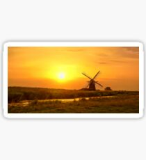 Riverside Windmill Sticker