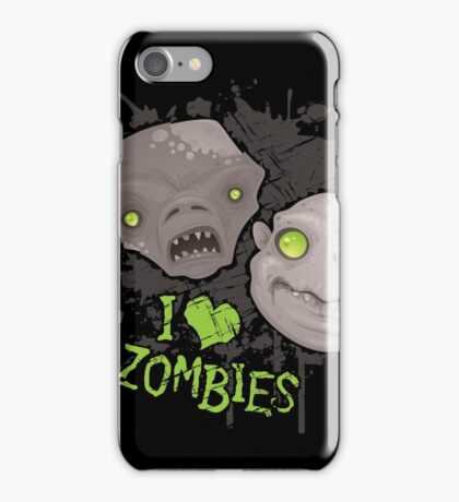 Zombie Heads iPhone Case/Skin