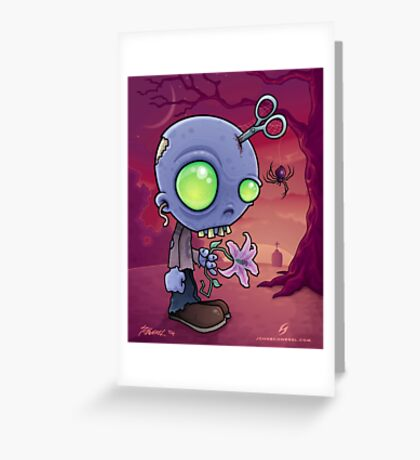 Zombie Jr. Greeting Card