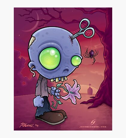 Zombie Jr. Photographic Print