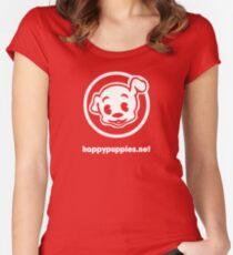 happypuppies.net Women's Fitted Scoop T-Shirt