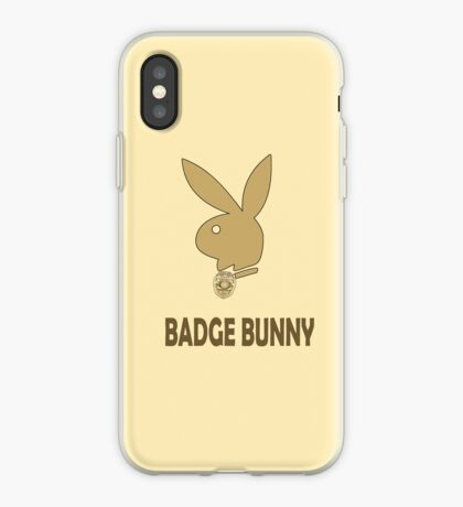 Badge Bunny iPhone Case