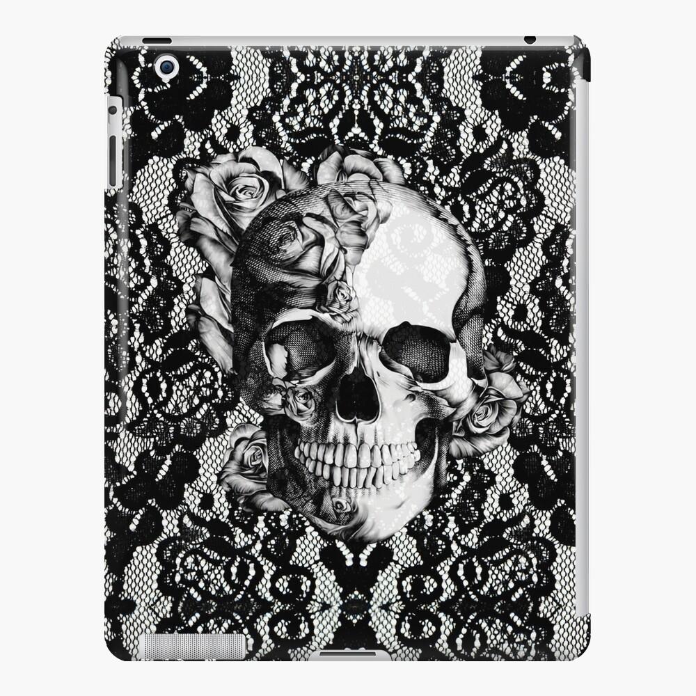 Gothic Lace skull iPad Case & Skin