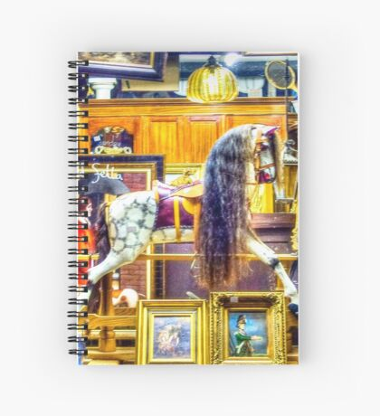 Antiques shop window Spiral Notebook