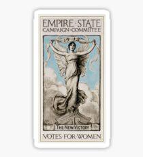History US feminism 1915 Votes for women Sticker