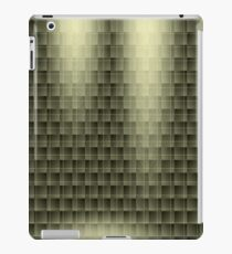 Abstract geometric seamless background iPad Case/Skin
