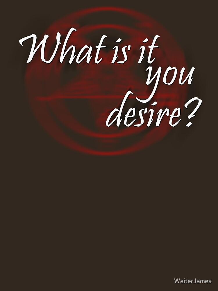 Lucifer: ¿Qué es lo que deseas? de WaiterJames