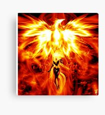Jean the mighty Phoenix  Canvas Print