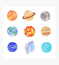 planets Photographic Print
