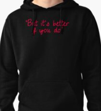 "P!ATD/Music - ""But It's Better If You Do"" (Red) Pullover Hoodie"