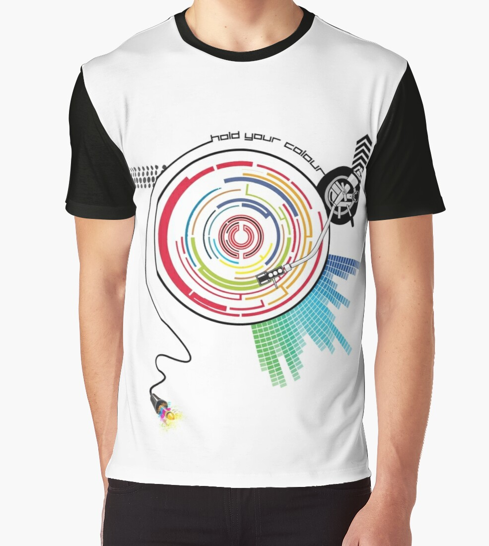 Quot Pendulum Vinyl Music Mashup Quot Graphic T Shirts By Hydr0x