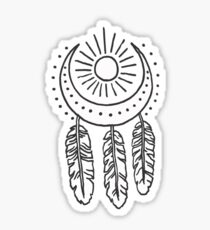 dream catcher Sticker