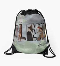 Greetings From Silent Hill! Drawstring Bag