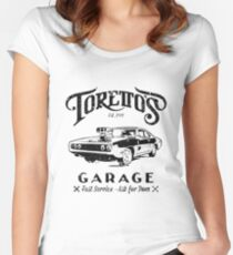 Torettos Garge Dom Women's Fitted Scoop T-Shirt