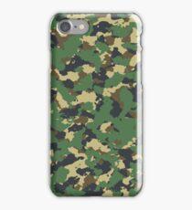 Green camo iPhone Case/Skin