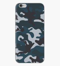 Blaue Tarnung iPhone-Hülle & Cover