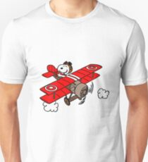 Snoopy Flying  T-Shirt