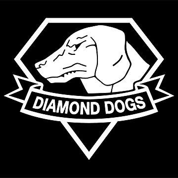 Diamond Dogs white by royalbandit