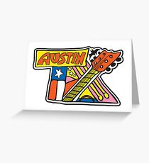 Austin TX Greeting Card
