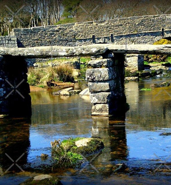 Clapper Bridge by Charmiene Maxwell-Batten
