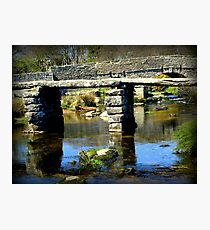Clapper Bridge Photographic Print