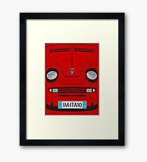 Little Italian Sports Car Framed Print