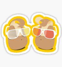 Cool Potatoes Sticker
