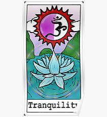 """Tranquility"" Poster"