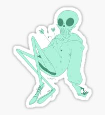 Ghostie Dude Sticker