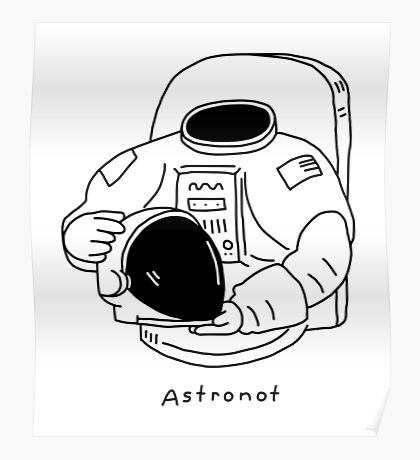 Astronot Poster