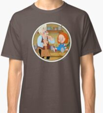 The Puppeteer and his doll  Classic T-Shirt