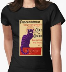 Chat de Cheshire Women's Fitted T-Shirt