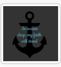 Faith Anchor Sticker