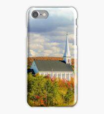 St Mary's Church, Mabou, Cape Breton iPhone Case/Skin
