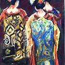 Geisha ladies  by Shirlroma