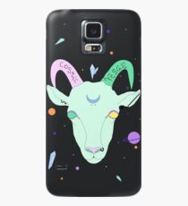Cosmic Vegan Goat. Case/Skin for Samsung Galaxy