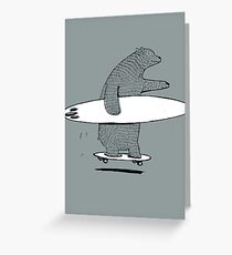 Going Surfing Greeting Card