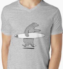 Going Surfing Men's V-Neck T-Shirt