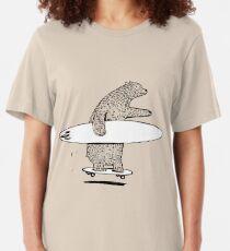 Surfen gehen Slim Fit T-Shirt