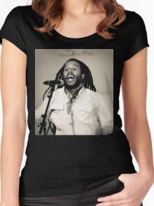 Ziggy Marley Women's Fitted Scoop T-Shirt