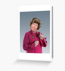 Professor D. Umbridge Greeting Card