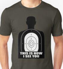 Target Silhouette graphic Unisex T-Shirt
