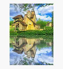 Queen Marie-Antoinette Hamlet Cottage Versailles Paris France Photographic Print