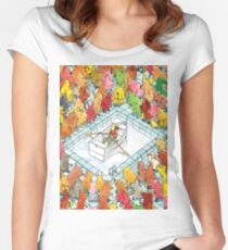 Dance Gavin Dance Women's Fitted Scoop T-Shirt