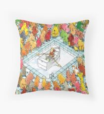 Dance Gavin Dance Throw Pillow