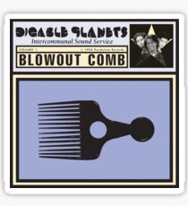 Digable Planets - Blowout Comb Shirt Sticker