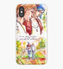 Chloe and Max (pirate fort) iPhone Case/Skin