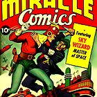 RETRO Golden Age Comic Book Cover Miracle Comics by MaskedMarvel