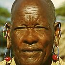 Masai Elder by Heather Friedman